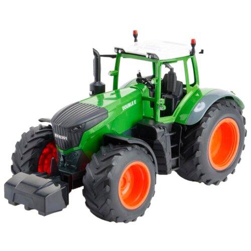 Купить Трактор Double Eagle E351-003 1:16 37 см зеленый, Радиоуправляемые игрушки