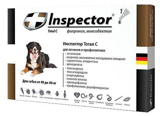 Inspector Капли для собак от 40 до 60 кг