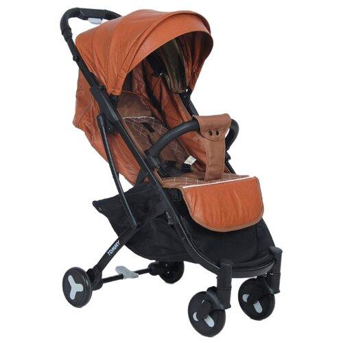 Прогулочная коляска Tommy Travel (экокожа) коричневый