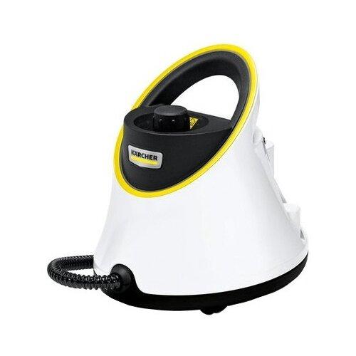 Пароочиститель KARCHER SC 2 Deluxe EasyFix Premium, белый/черный/желтый пароочиститель karcher sc 1 easyfix желтый черный