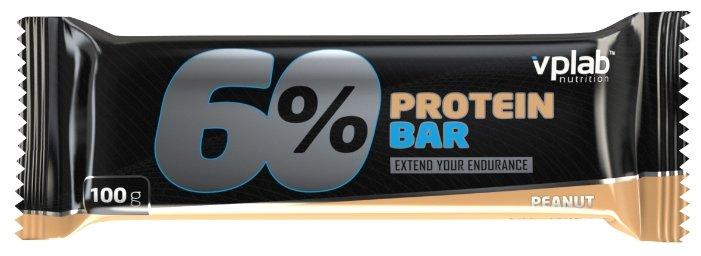 VP Laboratory протеиновый батончик 60% (100 г)(1 шт.)