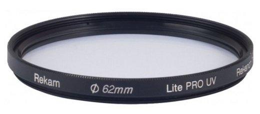 Светофильтр ультрафиолетовый Rekam Lite Pro UV 62мм