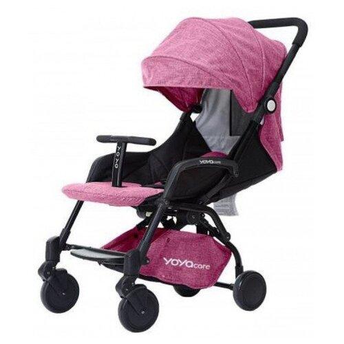 Купить Прогулочная коляска Yoya Care 2018 розовый/черная рама, цвет шасси: черный, Коляски