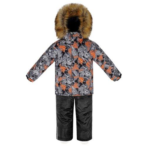 Купить Комплект с брюками Reike размер 110, grey, Комплекты верхней одежды