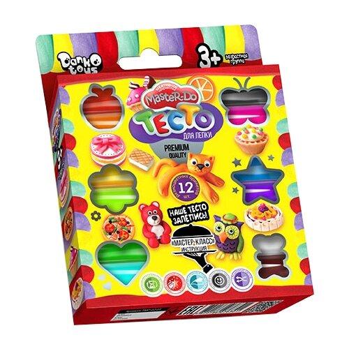 Купить Пластилин Danko Toys 12 цветов (TMD-02-03), Пластилин и масса для лепки