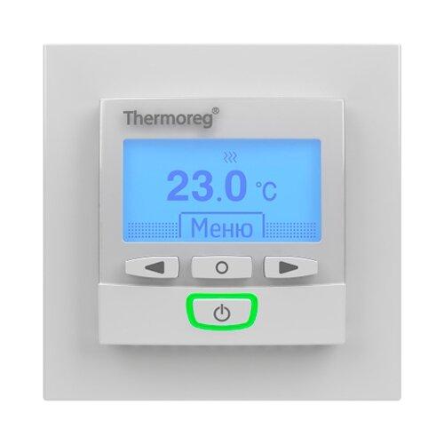 Терморегулятор Thermo TI-950 Design белый терморегулятор stout ti n