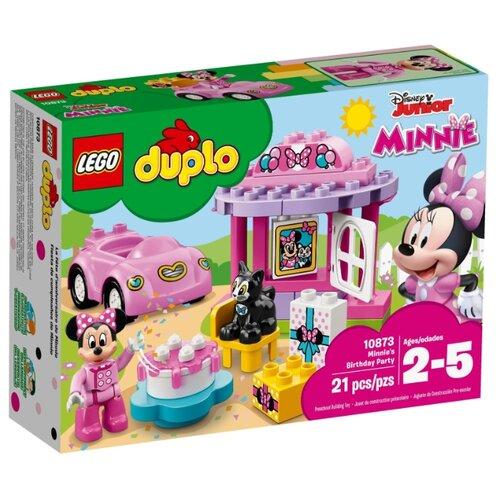 цена на Конструктор LEGO DUPLO 10873 День рождения Минни