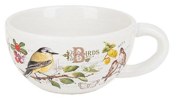 Polystar collection Кружка суповая Birds 13 см
