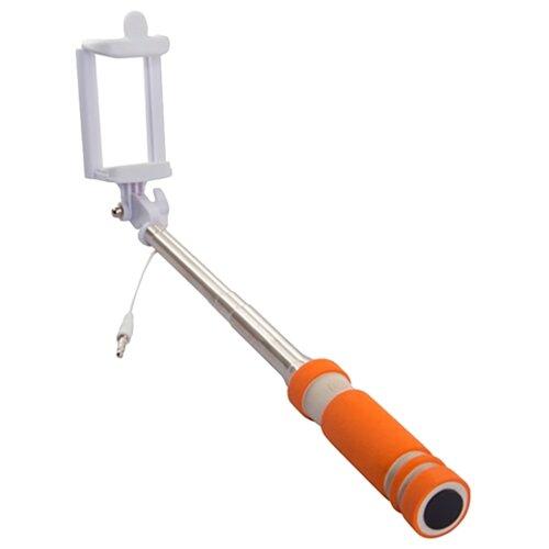 Монопод для селфи Rekam SelfiPod S-350 оранжевыйМоноподы и пульты для селфи<br>