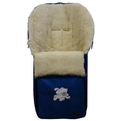 Купить Конверт-мешок Womar Aurora в коляску 95 см 8 бирюзовый, Конверты и спальные мешки