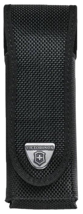 Чехол для складных ножей Victorinox 4.0504.3, рукоять 130 мм, нейлон, цвет черный, крепление на пояс, Victorinox (Викторинокс)
