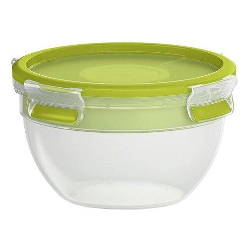 EMSA Контейнер CLIP & GO для салатов 518097 зеленый/прозрачный