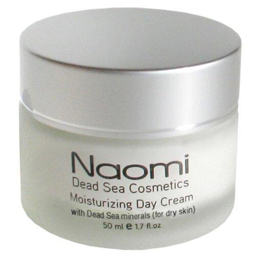 Naomi Moisturizing Day Cream Увлажняющий дневной крем с минералами Мертвого моря для сухой кожи лица, 50 мл