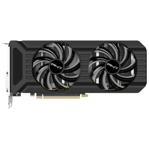 Видеокарта PNY GeForce GTX 1070 1506Mhz PCI-E 3.0 8192Mb 8000Mhz 256 bit DVI HDMI HDCP Twin Fan