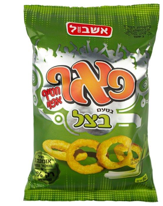 Снэк кукурузный Eshbol Ltd «Пафф» со вкусом лука 60 г