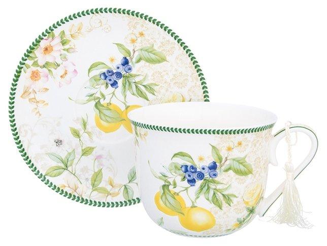 Elan gallery Чайная пара Лимоны