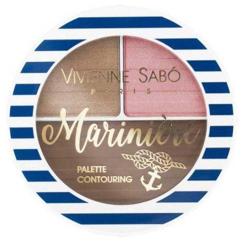 Vivienne Sabo Палетка для скульптурирования лица Mariniere