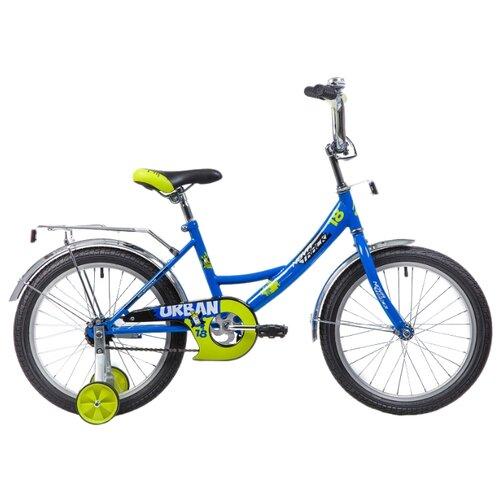 Детский велосипед Novatrack Urban 18 (2019) синий (требует финальной сборки) велосипед ghost square urban 6 2016