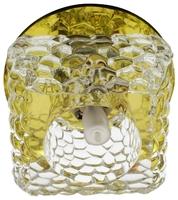 Встраиваемый светильник De Fran FT 9284 YL, золото / прозрачный