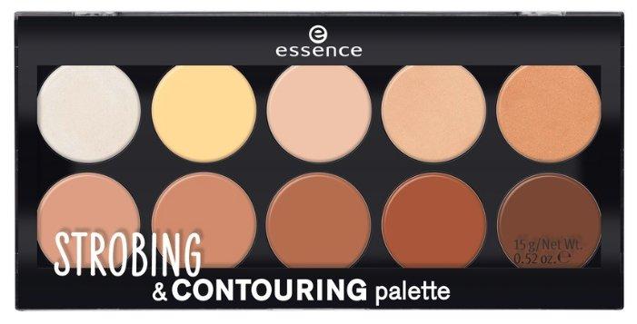 Essence Палетка для стробинга и контурирования Strobing & Contouring palette