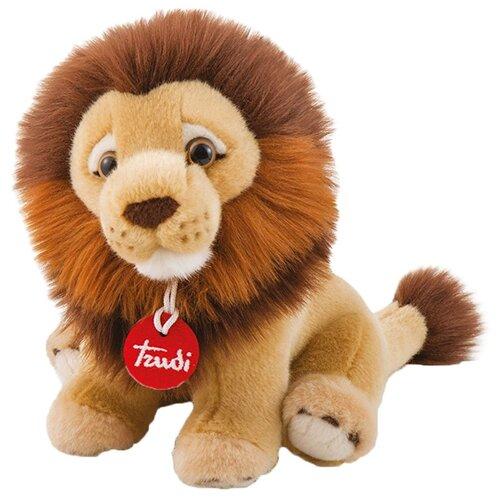 Мягкая игрушка Trudi Лев Нарцис сидящий 27 см абвгдейка мягкая игрушка лев 40 см