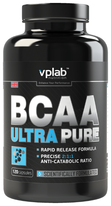 BCAA VP Laboratory BCAA Ultra Pure (120 капсул)