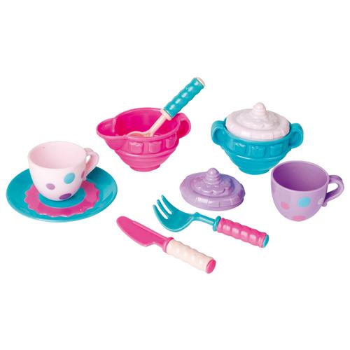 Набор посуды MeLaLa За чашкой чая 62152 розовый/фиолетовый/голубой