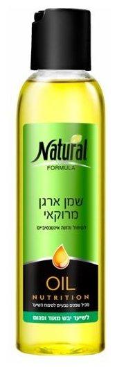 Natural Formula Масло интенсивно питающее сухие волосы