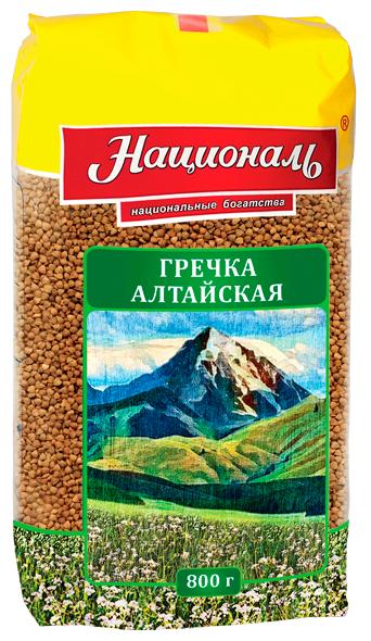Гречневая крупа Националь Алтайская 800 г