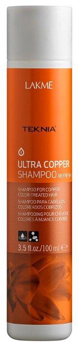 Lakme шампунь Teknia Ultra Copper Освежающий цвет медных оттенков волос