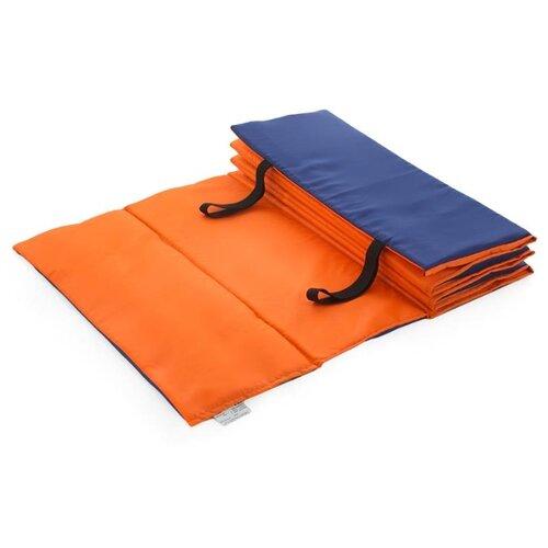 Коврик Indigo SM-042, 180х60 см оранжевый/синий