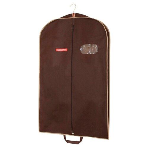 HAUSMANN Чехол для верхней одежды HM-701003 60x100 см коричневый