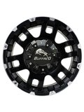 Диски R18 5x127 8,5J ET25 D78,3 Buffalo BW-004 Gloss Black Machined Face - фото 1