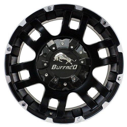 Колесный диск Buffalo BW-004 9x20/5x150 D110.1 ET35 Gloss Black Machined Face колесный диск buffalo bw 011 9x20 5x150 d110 1 et38 satin black machined