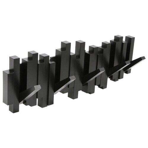 Вешалка Umbra настенная Sticks черный ys4 01 cg вешалка настенная ш 596 шатура rimini flash