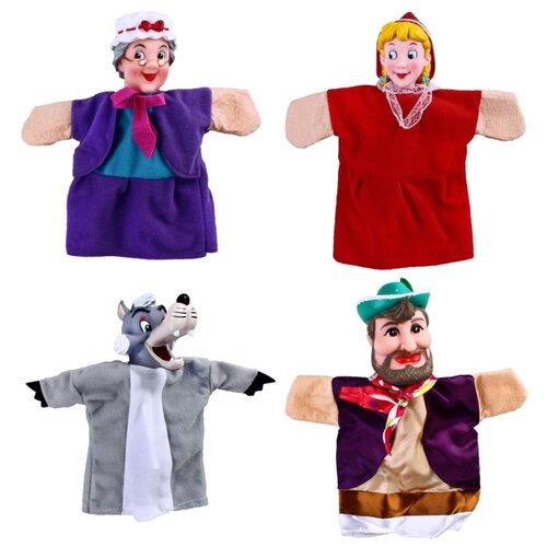Жирафики Кукольный театр Красная шапочка aha набор создай свой театр красная шапочка