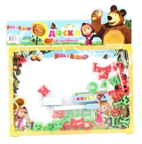 Доска для рисования детская Затейники Маша и Медведь (GT5558)
