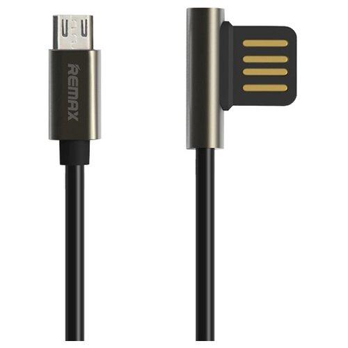 цена на Кабель Remax Emperor USB - microUSB (RC-054m) 1 м черный