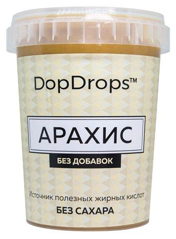 DopDrops Паста ореховая Арахис без добавок