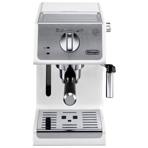 Кофеварка рожковая De'Longhi ECP 33.21 белый кофеварка de'longhi ecp 31 21