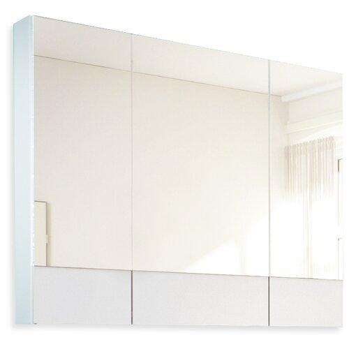 Зеркало 1Marka Соната 90 Белый глянец (90х80) без рамы