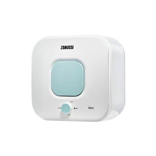 Накопительный электрический водонагреватель Zanussi ZWH/S 10 MINI O, зеленый