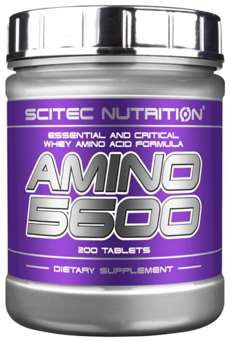 Аминокислотный комплекс Scitec Nutrition Amino 5600, 200 таблеток