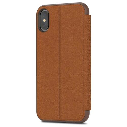 цена на Чехол Moshi SenseCover для Apple iPhone X caramel brown