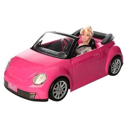Набор Tongde с машиной, 29 см, 6633 игровой набор с куклой no name 6633 с машиной 1127225 розовый