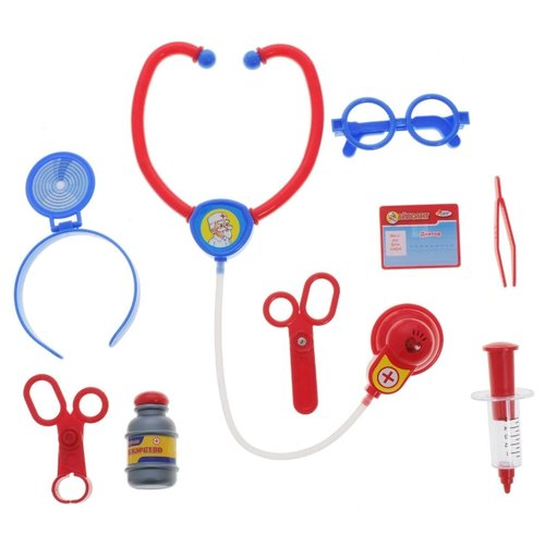 Купить Набор доктора Играем вместе Айболит (J210-H34002-R), Играем в доктора
