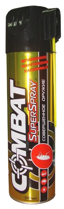 Аэрозоль Combat SuperSpray от ползающих насекомых
