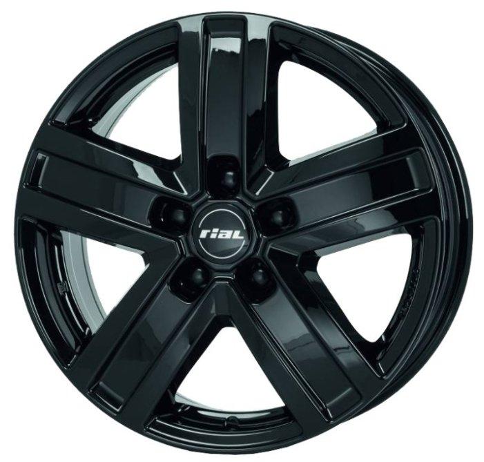 Колесный диск RIAL Transporter 7x17/5x130 D89.1 ET66 Diamond Black