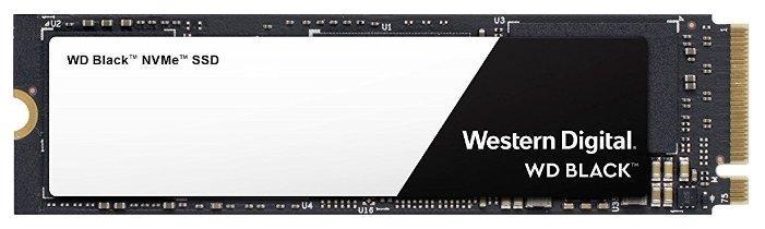 Твердотельный накопитель Western Digital WD Black NVMe SSD 500 GB (WDS500G2X0C)