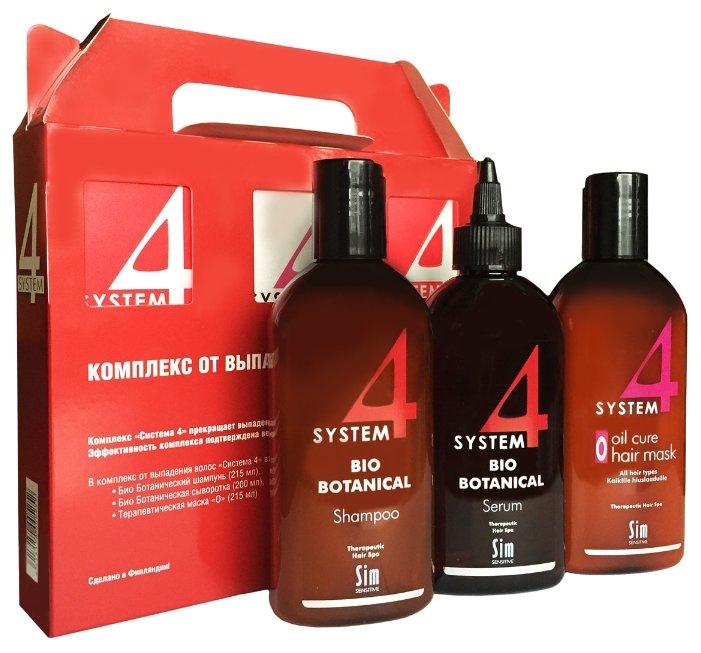Система 4 комплекс против выпадения волос (шампунь 215мл, маска 215мл, сыворотка 200мл)